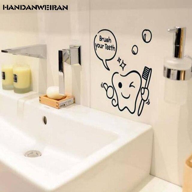 2018 nieuwe badkamer waterdicht muurstickers cartoon mini bad glas ...