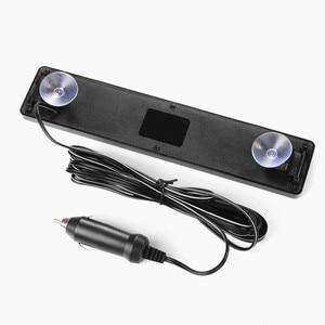 Image 4 - Letrero LED para coche de 23CM y 12v, placa de visualización en inglés para motocicleta, tablero de desplazamiento programable, mensaje azul, kit de bricolaje barato