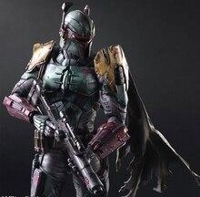 Zagraj Arts Kai Boba Fett Darth Star War Szturmowiec Imperial Vader Bounty Hunter 27 cm PCV Figurka Doll Zabawki Dla Dzieci prezent