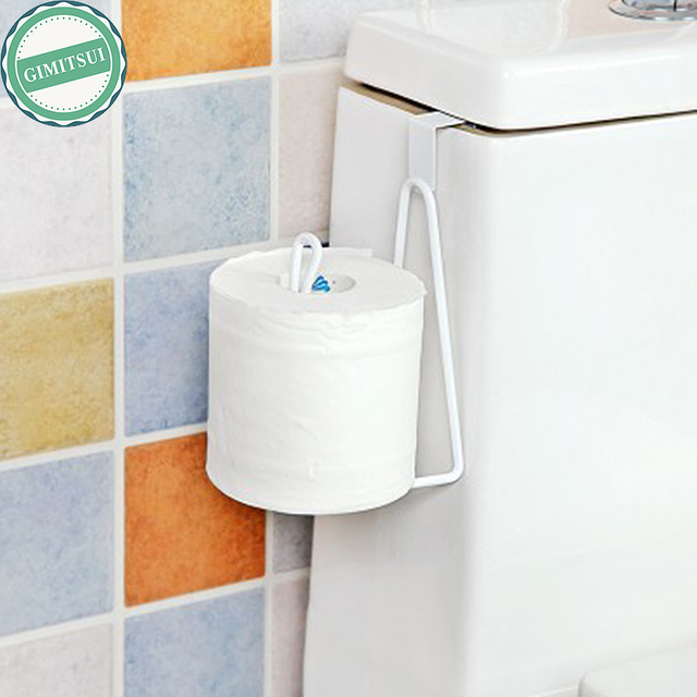Tissue Holder Toilet Paper Storage Organizer Bathroom Rack Chrome Roll Paper  Hanger Sink Roll Towel Holder