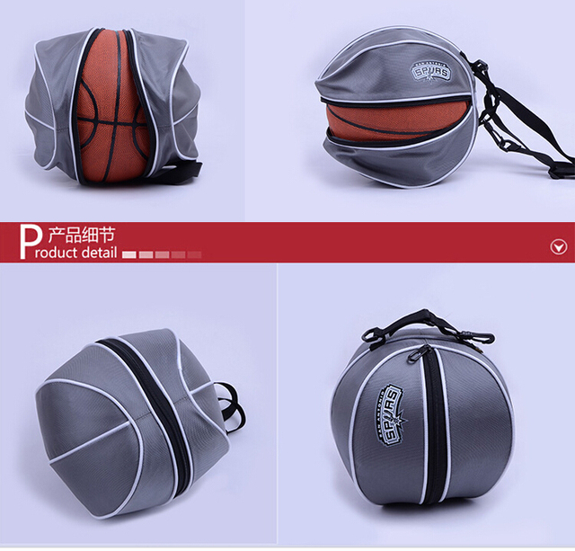 2b48935a0185 football bags sport Gym Bags basketball bag for ball Shaped Team Bag Drink  Bottle Pouch Pack