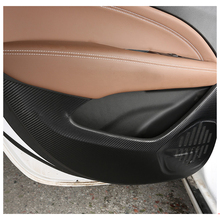 Lsrtw2017 Fiber Leather Car Inner Door Anti-kick Mat for Buick Regal Gs 2018 2019 2020