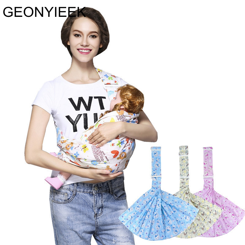 Front Facing Breathable Soft Infant Wrap Activeity Gear Carriers Pouch Newborn Breast Feeding Sling Baby Pouch Carrirt Backpack