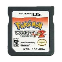 Nintendo NDS Игры Pokemon Белый 2 Видеоигры Картридж Консоли Карта США Версия На Английском Языке