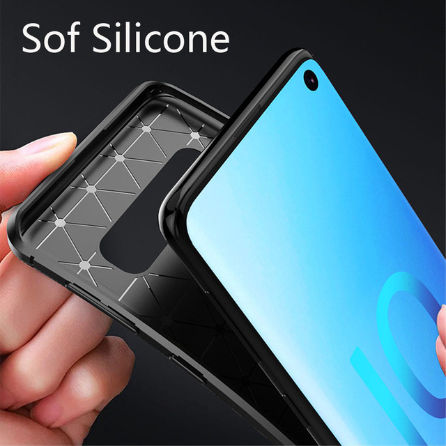 Phone Case sFor Samsung Galaxy S10 Plus S10E Case Vintage Soft Silicone Shockproof Cover For Samsung Galaxy S10 S 10 Case Cover 2