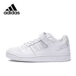 Adidas Men Shoes Originals FORUM LO REFINED Low-top Men's Skateboarding Shoes Cotton Fabric Adidas Sports Sneakers for Men