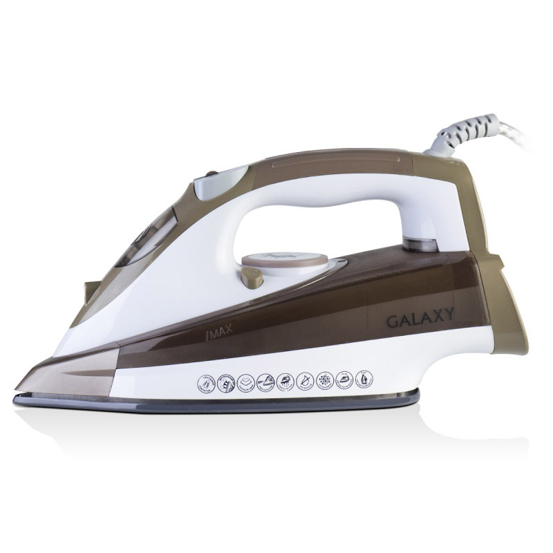 Steam iron Galaxy GL 6122 brown
