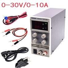 Бесплатная доставка KPS3010D Регулируемый Высокой точности двойной СВЕТОДИОДНЫЙ дисплей переключатель Питания ПОСТОЯННОГО ТОКА функция защиты 30V10A 110 В/220 В