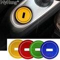 Fechadura com chave Anel Adesivo Para Mercedes Benz Smart Fortwo Cola Lgnition Keyhole Decoração Anel Decorativo Adesivos Refletivos