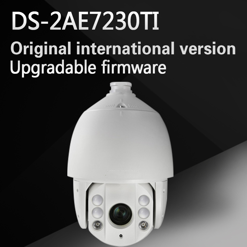 Free shipping Original English Version DS-2AE7230TI-A HD1080P Turbo IR PTZ Dome Camera 30X optical zoom UP to 120m CCTV Camera free shipping english version ds 2de7230iw ae 2mp network cctv ptz camera poe with 30x optical zoom 150m ir ip66 h 265