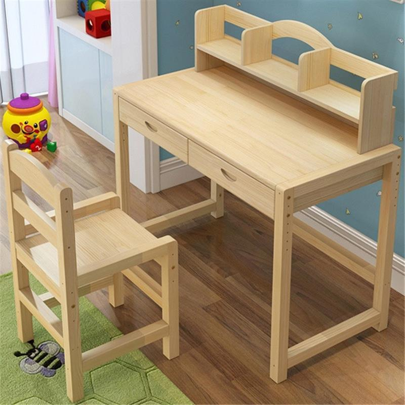 Set Tableau Enfant Meja Belajar Estudar Tisch Tavolino Bambini Tablo Estudiar Wooden Desk Escritorio Mesa Study Table For Kids in Children Tables from Furniture