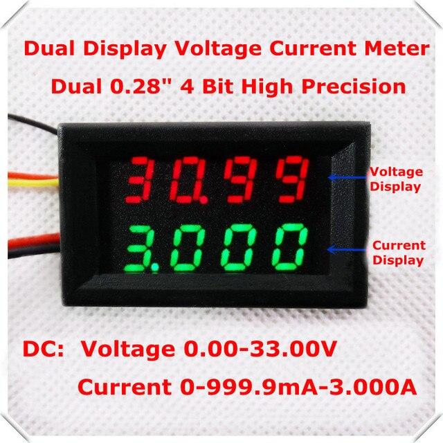 RD Dual LED Display Bit Digital Ammeter Voltmeter Car - Car sign with namesonline get cheap d led sign aliexpresscom alibaba group