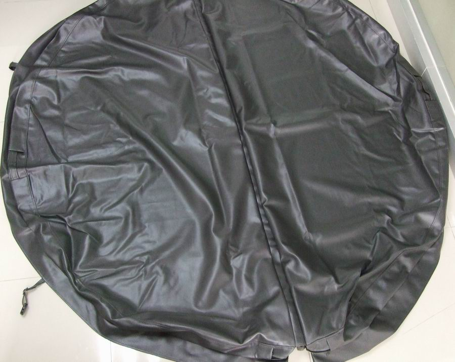 Round Dark Grey Cover 002