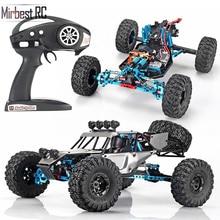 RC araba 2.4G 4CH kaya paletli sürüş araba sürücü Bigfoot uzaktan kumanda araba modeli OffRoad araç oyuncak wltoys traxxas rc drift