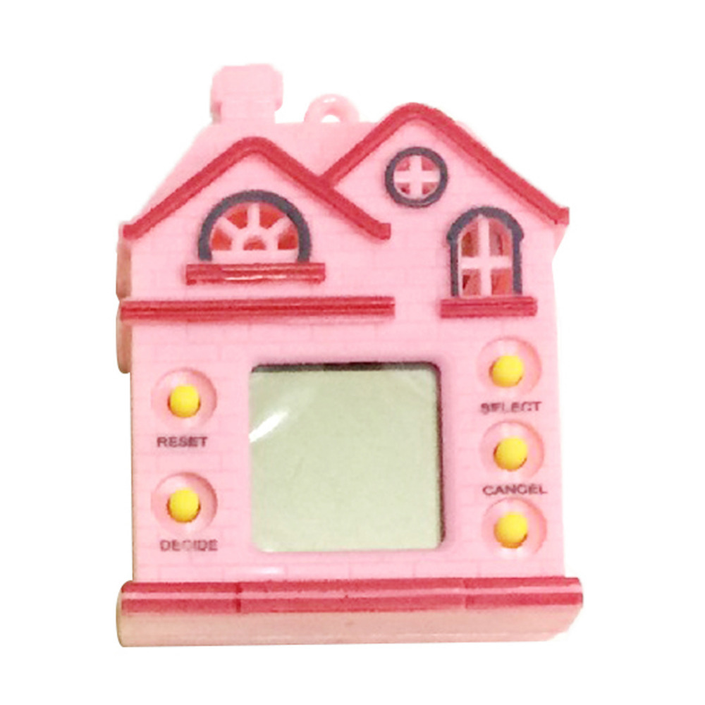 Electronic Pets Minocool Mini-room Tamagochi Pet Virtual Digital Game Machine Nostalgic Cyber Electronic E-pet Handheld Toy Gift For Children Promote The Production Of Body Fluid And Saliva