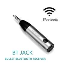 Ihens5 Mini Ricevente di Musica Adattatore 3.5 millimetri Martinetti AUX Audio Senza Fili di Bluetooth Car Kit Vivavoce con Microfono per le Cuffie Speaker