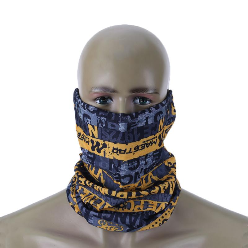 Winter Cycling Mask Half Face Mask Windproof Neck Warm Headwear Motor Bicycle Face Mask Outdoor Ski Snowboard Size 47.5cm
