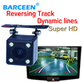 Dynamic track line hd ccd car parking camera use for parking shockproof plastic shell wire apply for different types car