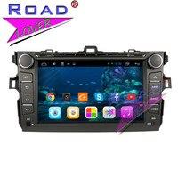 TOPNAVI 2G 32GB Quad Core Android 6 0 Car Media Center DVD Player For Toyota Corolla