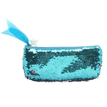 Summer Women Cosmetic Bag Fashion Sequins Female Makeup Pouch Pencil Case Student Pencil Bags School