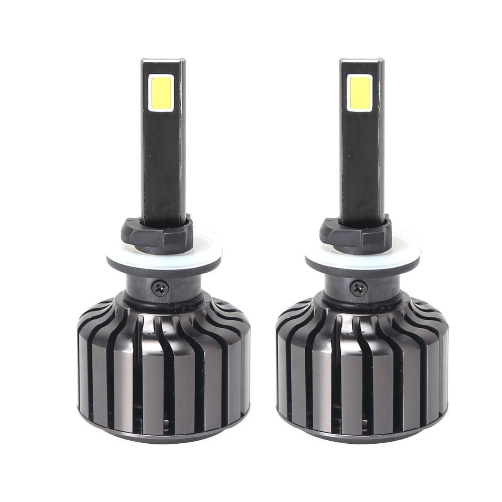 Car modified head lamp 7200LM 60W LED headlight Kit H1 H3 H7 H11 9005 9006 880/881 6000K bulbs Pure White for BMW Audi Honda C6