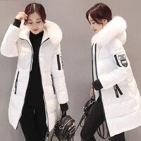 Новинка 2019, толстые женские парки, хлопковая Длинная зимняя куртка с капюшоном, женская одежда, теплое пальто, женская верхняя одежда, casaco ...