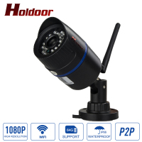 Wireless Outdoor WiFi Camera 1080P HD 2MP CMOS Security CCTV IP Camera Mtion Detec Alarm System