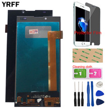 цена на 5.0 LCD Display For Prestigio Grace Q5 PSP5506 PSP 5506 DUO LCD Display Touch Screen Assembly Complete Tools Protector Film