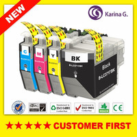 1 Set Compatible Ink Cartridge For Brother LC3717 For Brother MFC J2330DW MFC J3930DW Etc