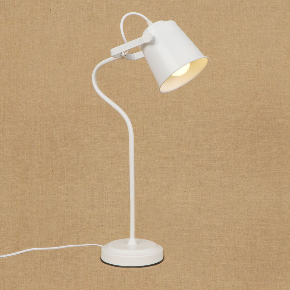 9 color Modern colorful brief Nordic iron table lamp E27 LED light desk lamp with switch for study living room workroom bedside led bar table plastic luminous furniture high cocktail drinking table for living room dining room garden club party desk