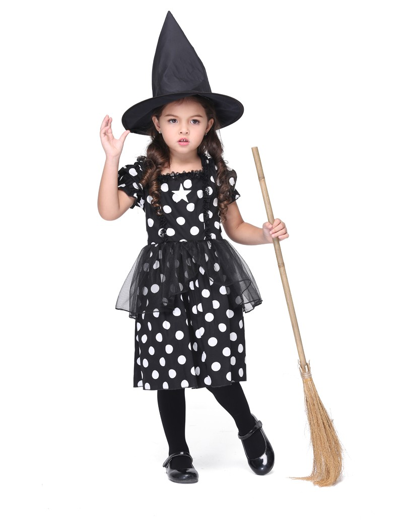 Kids Halloween Witch Costumes Promotion-Shop for Promotional Kids ...