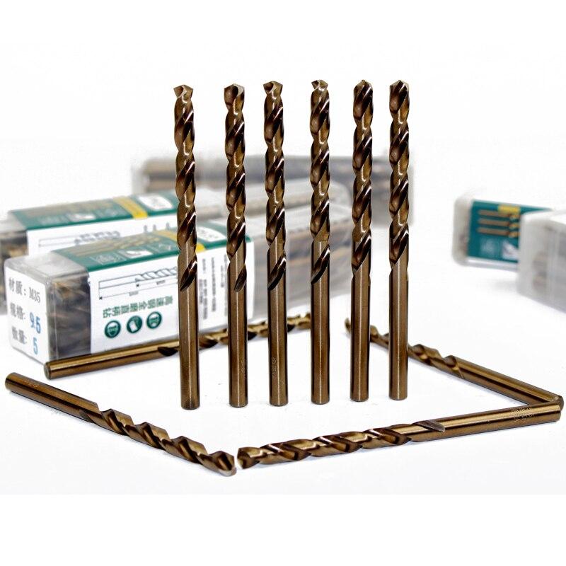 LAOA Co incluye brocas de taladro de acero inoxidable para perforar Metal Especial Acero inoxidable HRC65