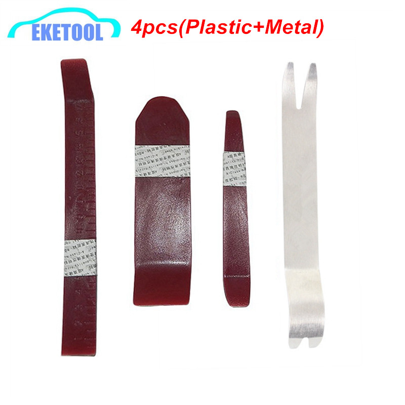 High quality non toxic plastic metal 4pcs pack auto car removal disassembly kits universal - Duidelijk plastic stoel ...
