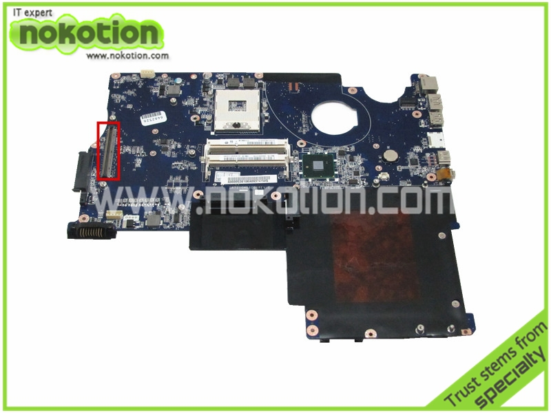 NOKOTION Laptop Motherboard for Toshiba Qosmio X500 X505 P500 P505 A000052610 DATZ1GMB8E0 REV E HM55 DDR3 with Graphics Slot a000053140 fit for toshiba qosmio x500 x505 p500 p505 laptop motherboard 100% fully tested