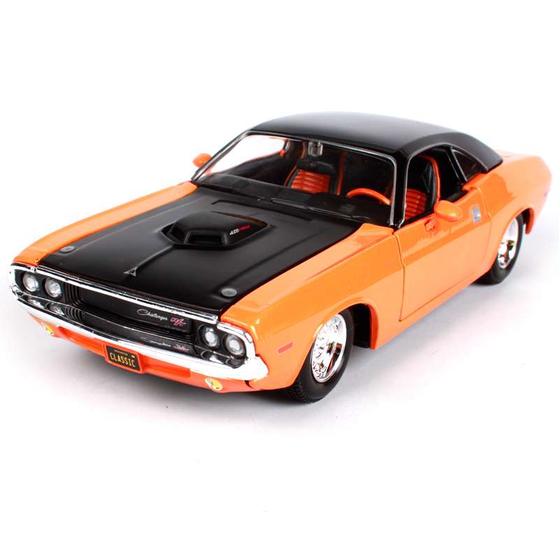 Maisto 1:24 1970 DODGE Challehger R/T Classic Modern Muscle Sports ...