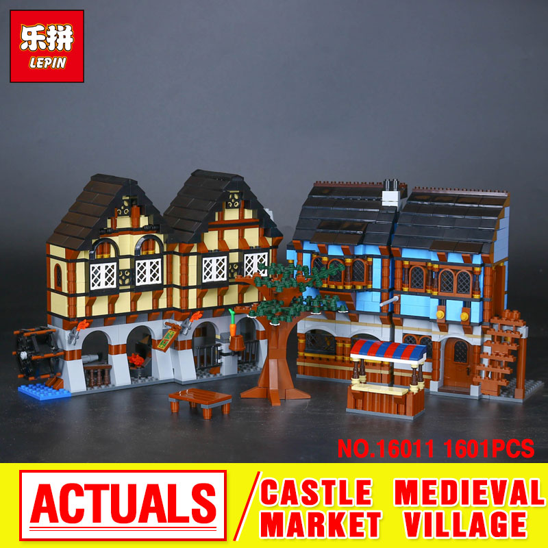 New 1601Pcs Lepin 16011 Genuine Castle Series The Medieval Manor Castle Set 10193 Building Blocks Bricks Model Educational Toys lepin 16017 castle series genuine the king s castle siege set children building blocks bricks educational toys model gifts