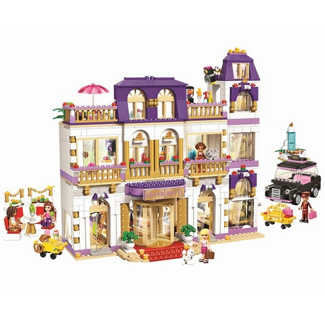 41101 Heartlake Grand Hotel 1585Pcs Mini Bricks Set Sale Friends ...