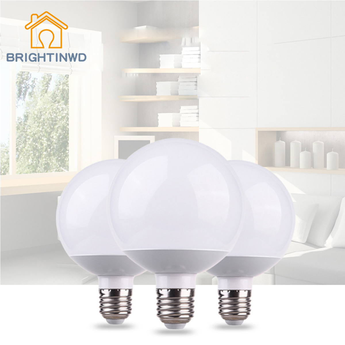 BRIGHTINWD LED G80 Bulb E27 Screw Photography Studio Dresser Wedding High power G70G60G95 Bulb