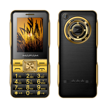 MAFAM A19 2.6 inch Dual SIM Card touch screen MP3 MP4 no FM 6800mAh vibrate senior Loud Sound mobile phone for old people P084
