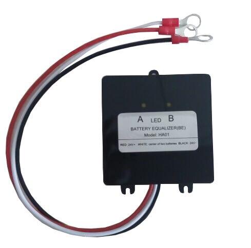 battery balancer  battery equalizer for 2 X 12V lead acid battery  24V battery system
