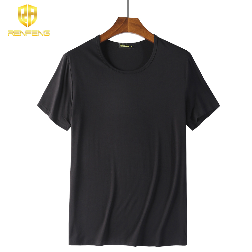 2018 Men Boy Body Compression Base Shirt 95% Bamboo Fiber Short Sleeve Summer Vest Thermal Under Top Tees Fitness Undershirt men (3)