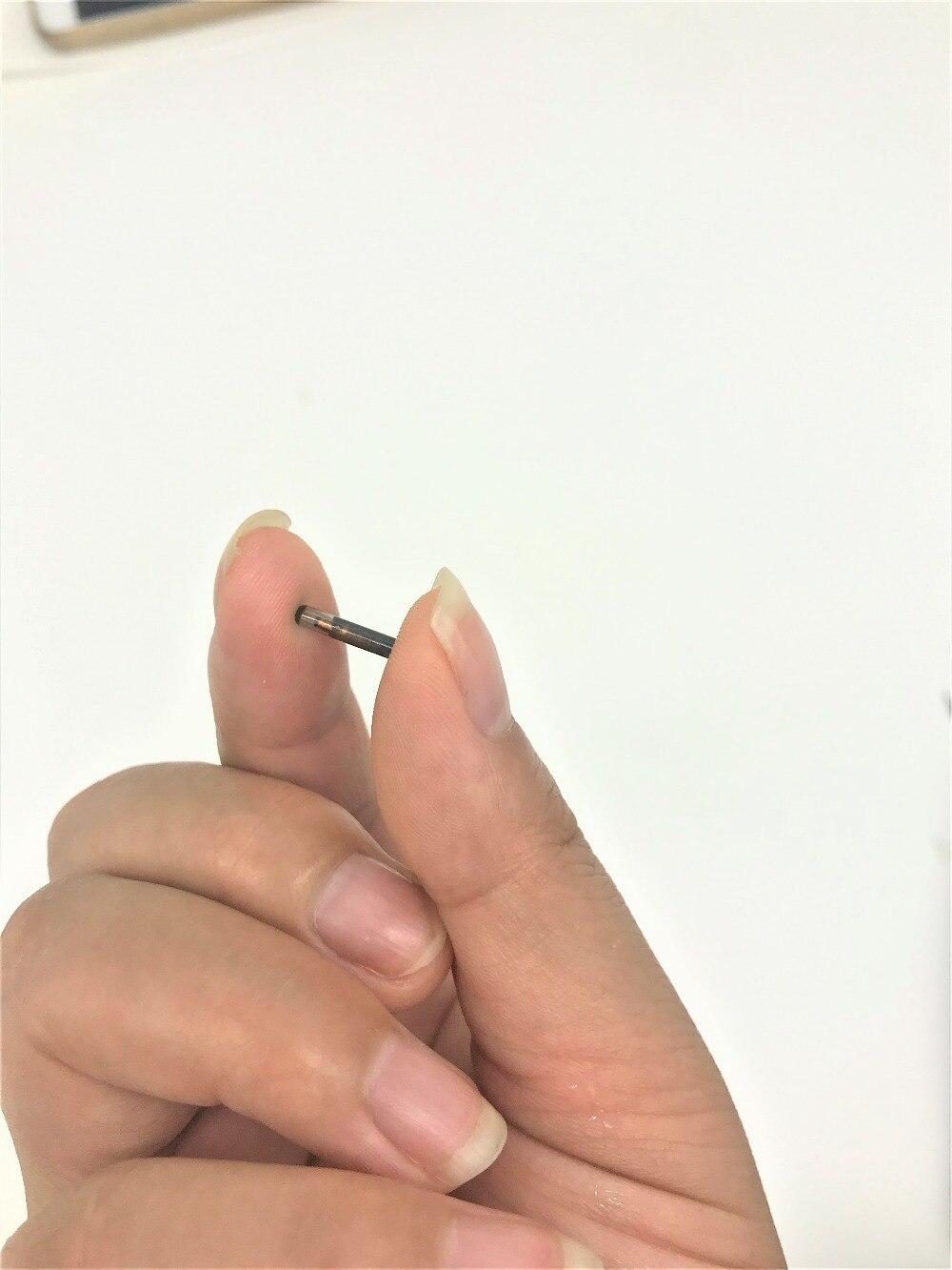 10pcs/lot 1.25*7 MM FDX-B Glass RFID Animal Microchip 134.2KHz Animal Glass Tag Implanted Rfid Animal Microchip