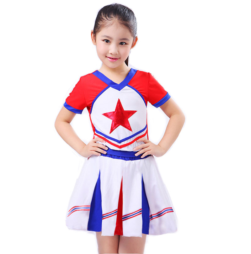 Children Academic Dress Girl School Cheering Uniforms Kid Graduation Kids Performance Costumes Set Girl Class Suit School Suits
