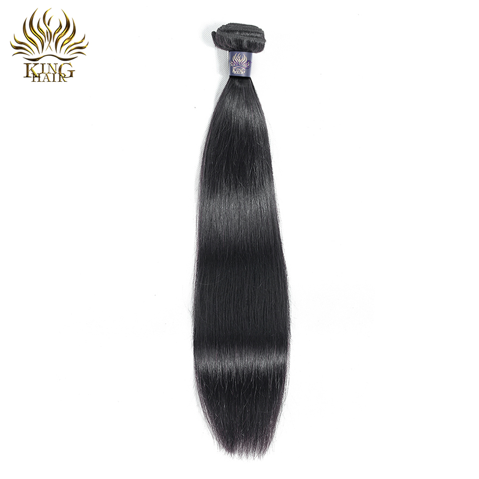 King Hair Peruvian Straight Hair 1/3 PCS 100% Human Hair Bundles Natural Black Color 8-28inch Remy Hair Extensions Free Shipping ...