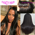 "Silky straight silk based wigs 4""x4"" swiss lace silk top full lace wigs glueless virgin Malaysian lace front human hair wigs"