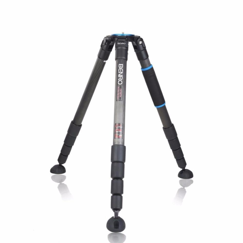 Benro C5790TN Tripod Professional Combination Carbon Fiber Tripods For Camera 5 Section Max Loading 30kg