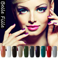 237 Pure Color Gel Lak Soak Off Gel Finish Nail Enamel Kits With Lamp Sky Blue Gel Nail Polish Stencils For Nails