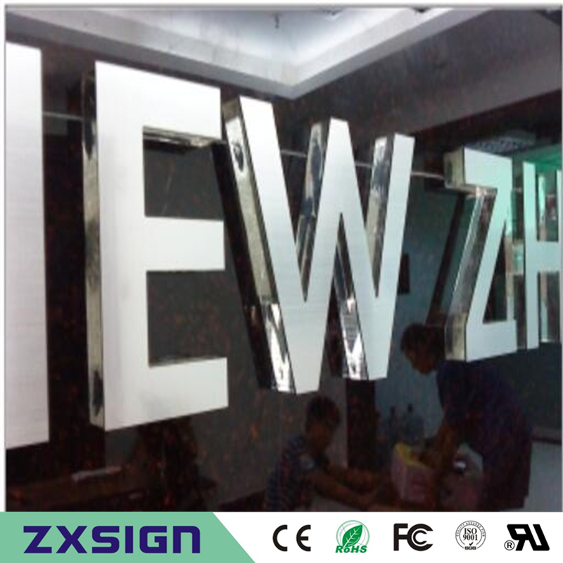 Outdoor Or Indoor Crystal Letters For Shop Decoration