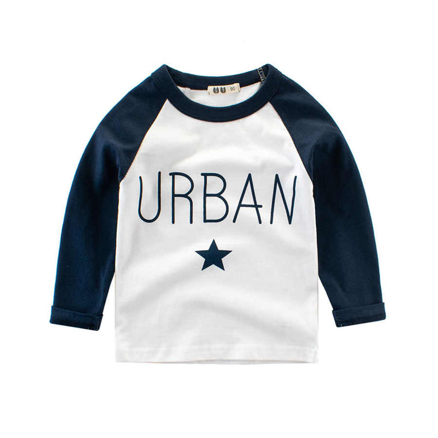 faf1ebfc1916c ZSIIBO 4 Colors URBAN Autumn Children's Clothing wear autumn winter new  boy's long sleeve Baby casual bottoming shirt pullover