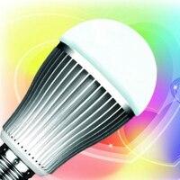 10 шт. 9 Вт 2.4 ГГц RF светодиодные лампы RGBW + 1 шт. 2.4 ГГц RGBW 4 Zone светодиодный сенсорный пульт (Ми свет)
